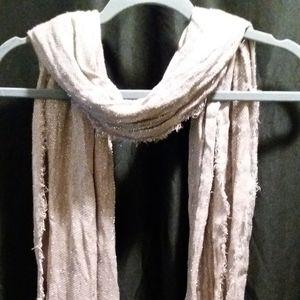 Hint of sparkle lightweight scarf